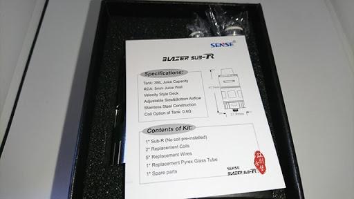 DSC 2255 thumb%25255B2%25255D - 【RTA/RDTA】「Sense Blazer Sub-R RTA」レビュー。クリアロとRDAとRDTAとRTAを全部一緒にしちゃったようなキメラなアトマイザー!【電子タバコ/爆煙】
