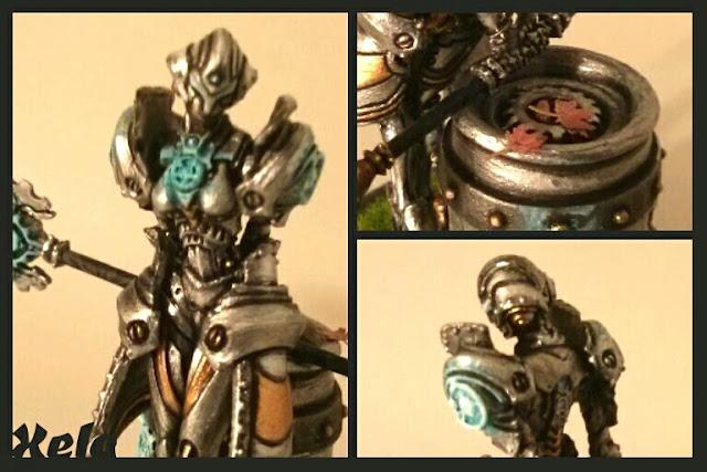 Steelsoul Protector pintada por Xela detalles
