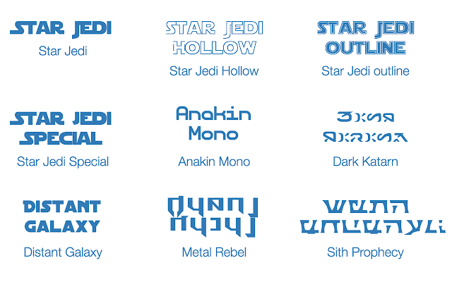 star wars font that you can download and use for your projects some personal others commercial use allowed