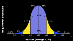 IQ score of 162
