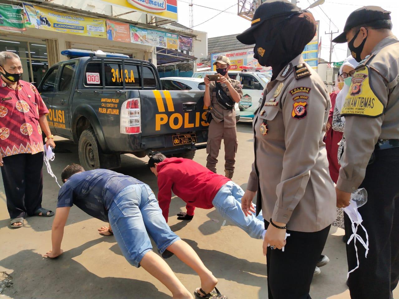Polsek Jatiluhur Polres Purwakarta Gencar Melaksanakan Operasi Yustisi