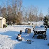Er is terug sneeuw!