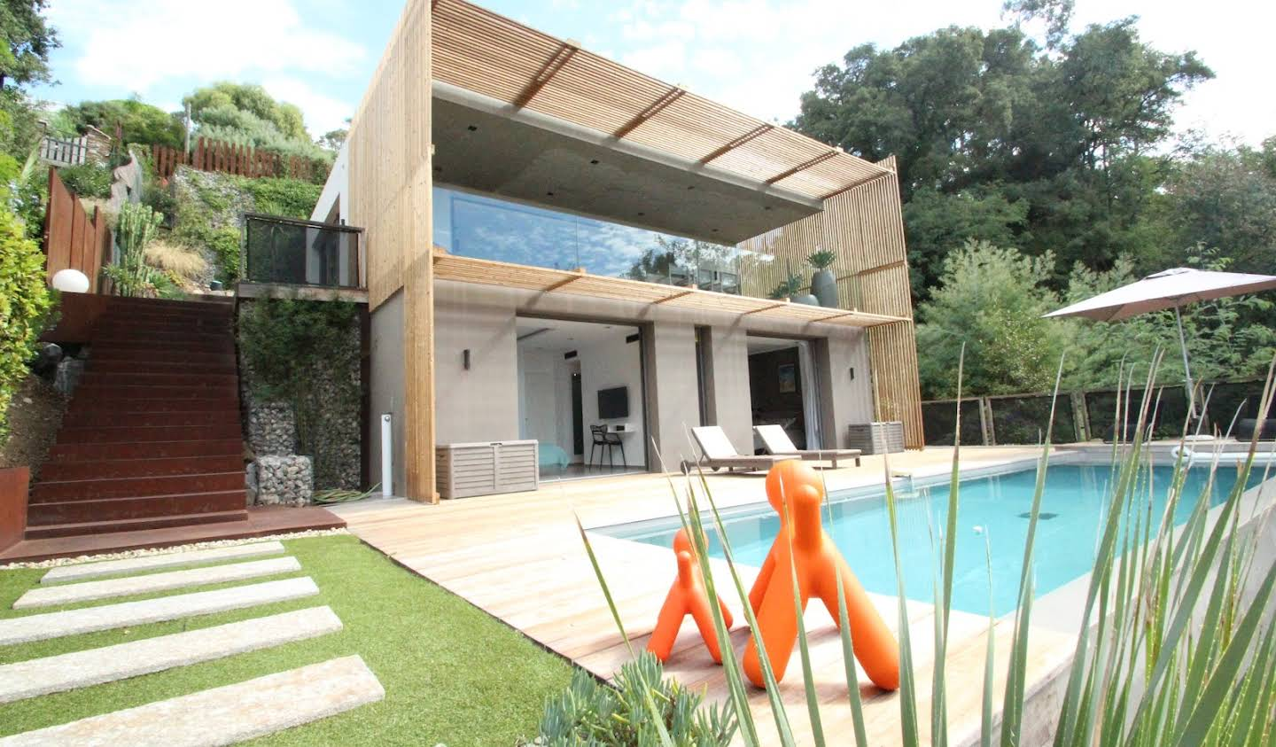 Villa with pool and garden Rayol-Canadel-sur-Mer