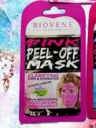 Pink Peel-Off mask Biovène Barcelona #pinkchallenge  teresagranara