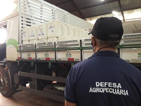 Governo do Estado interdita mais de 5.700 litros de agrotóxicos em propriedade rurais no Maranhão