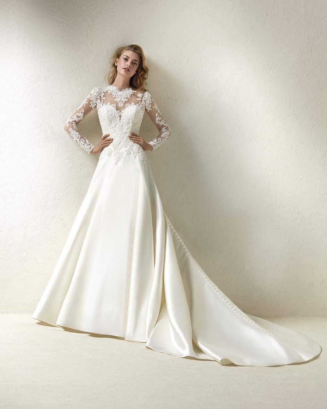 2018 Winter Wedding Dresses For Women's