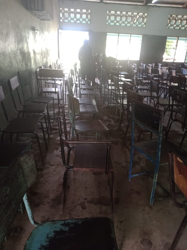 Ganze boys secondary school hall. PHOTO | BMS