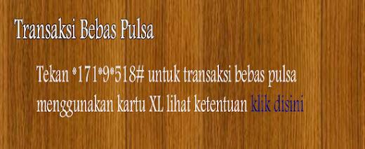Transaksi Bebas Pulsa - Transaksi Via UMB USSD Dial
