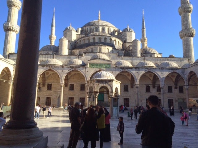 My Photos: Turkey -- Mosaics -- Istanbul -- Blue Mosque