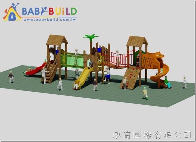BabyBuild 木製遊具