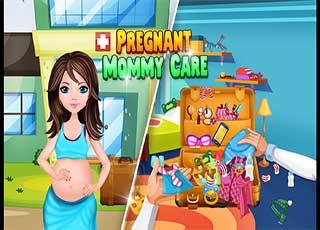 لعبة البنات Pregnant Mommy Care