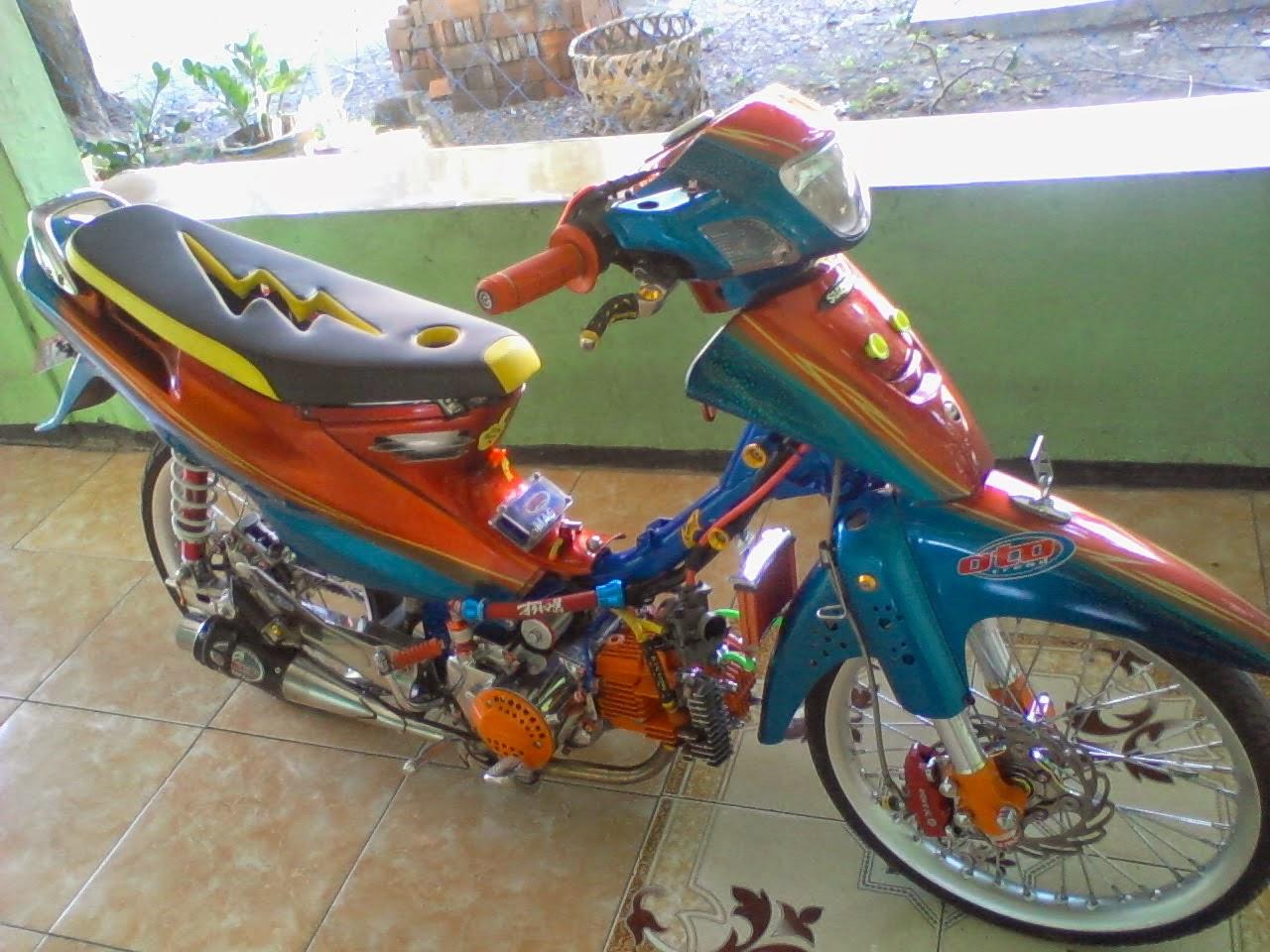 Jupiter Z Modifikasi Street Racing