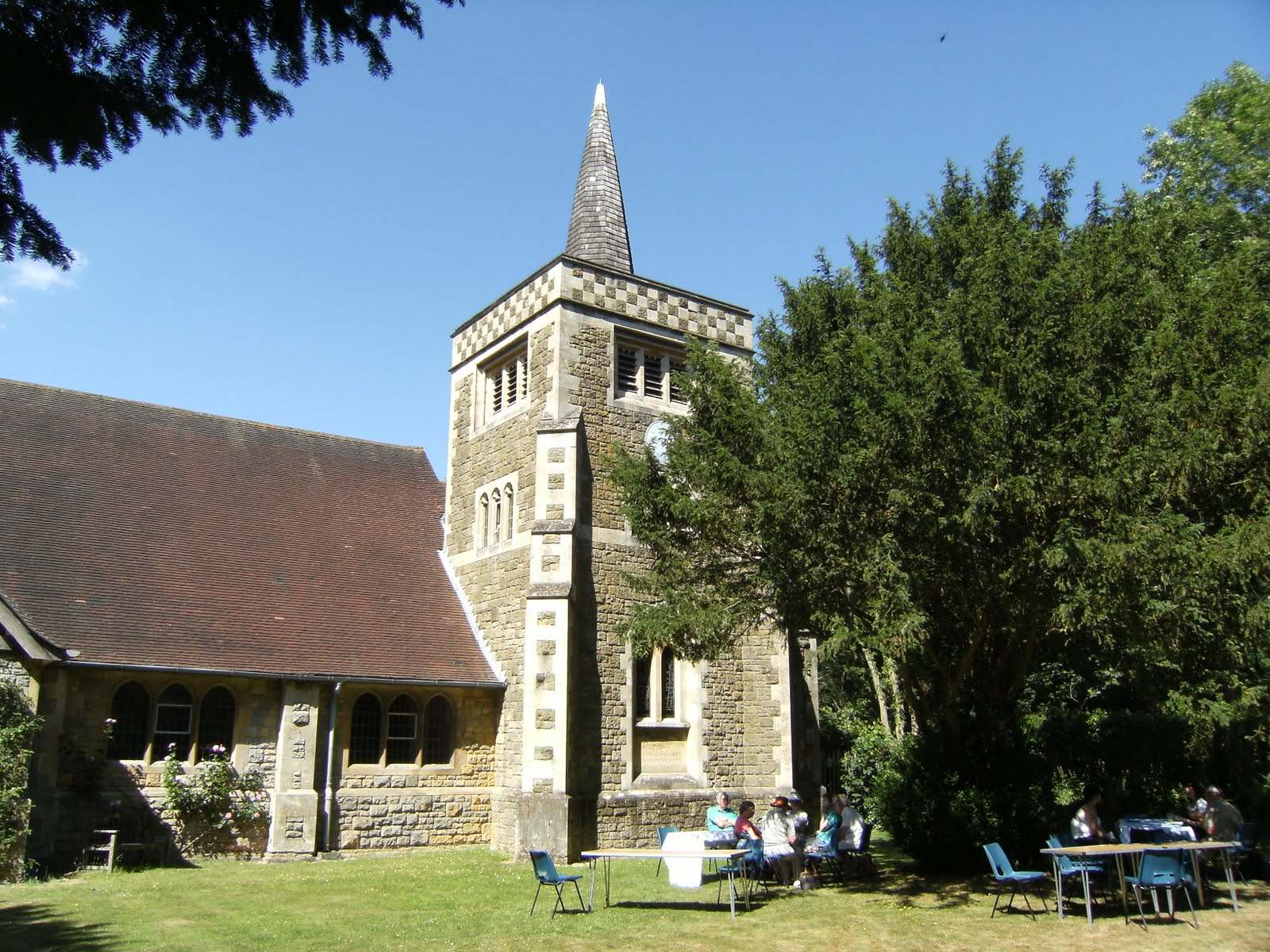1007100010 Tea and cakes at St Andrew's Church, Limpsfield Chart