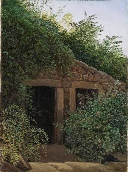 Carl Gustav Carus - An Overgrown Mineshaft