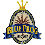 Logo of Blue Frog Blonde Frog Ale