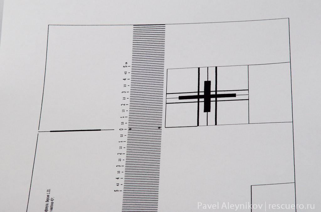 Диафрагма f/22