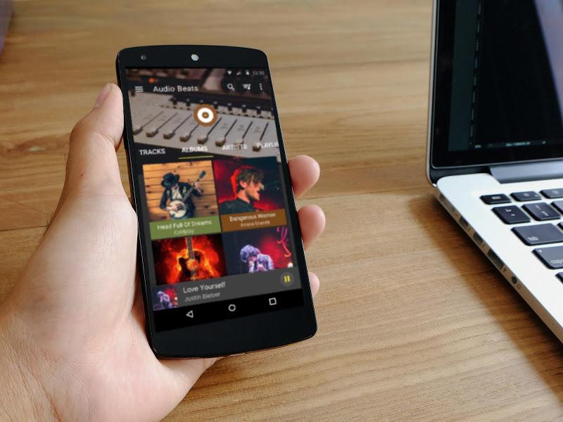 Audio Beats - Mp3 Music Player, Free Music Player Screenshot 9