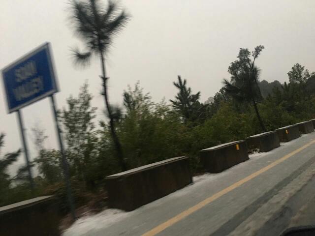 Long Driver in Rain