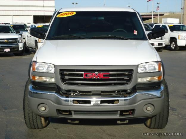 2006 GMC Sierra 2500HD Regular Cab Specifications Pictures Prices