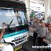 Polda Jabar dan Polres Sukabumi Periksa Kelayakan Angkutan AKAP dan AKDP