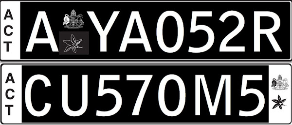 euro style number plates