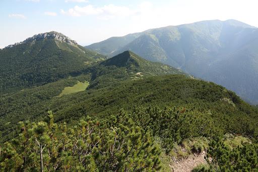 Sivý vrch a Salatín z Ostrej