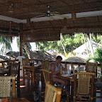 Restaurant and breakfast area of Pura Vida (Dauin, Negros)
