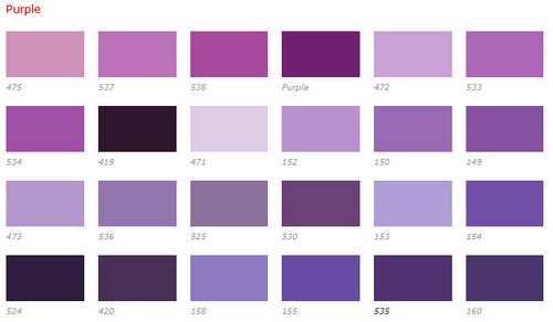 amethyst color chart - photo #26