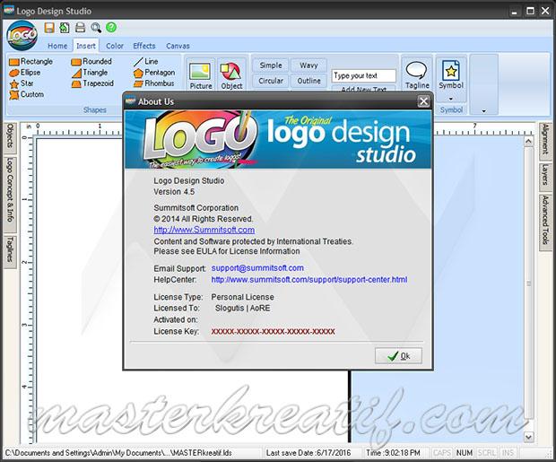 Logo Design Studio Pro Serial Key