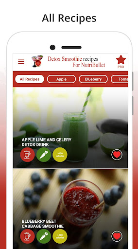 NutriBullet Recipes - Detox Smoothie Recipes screenshot