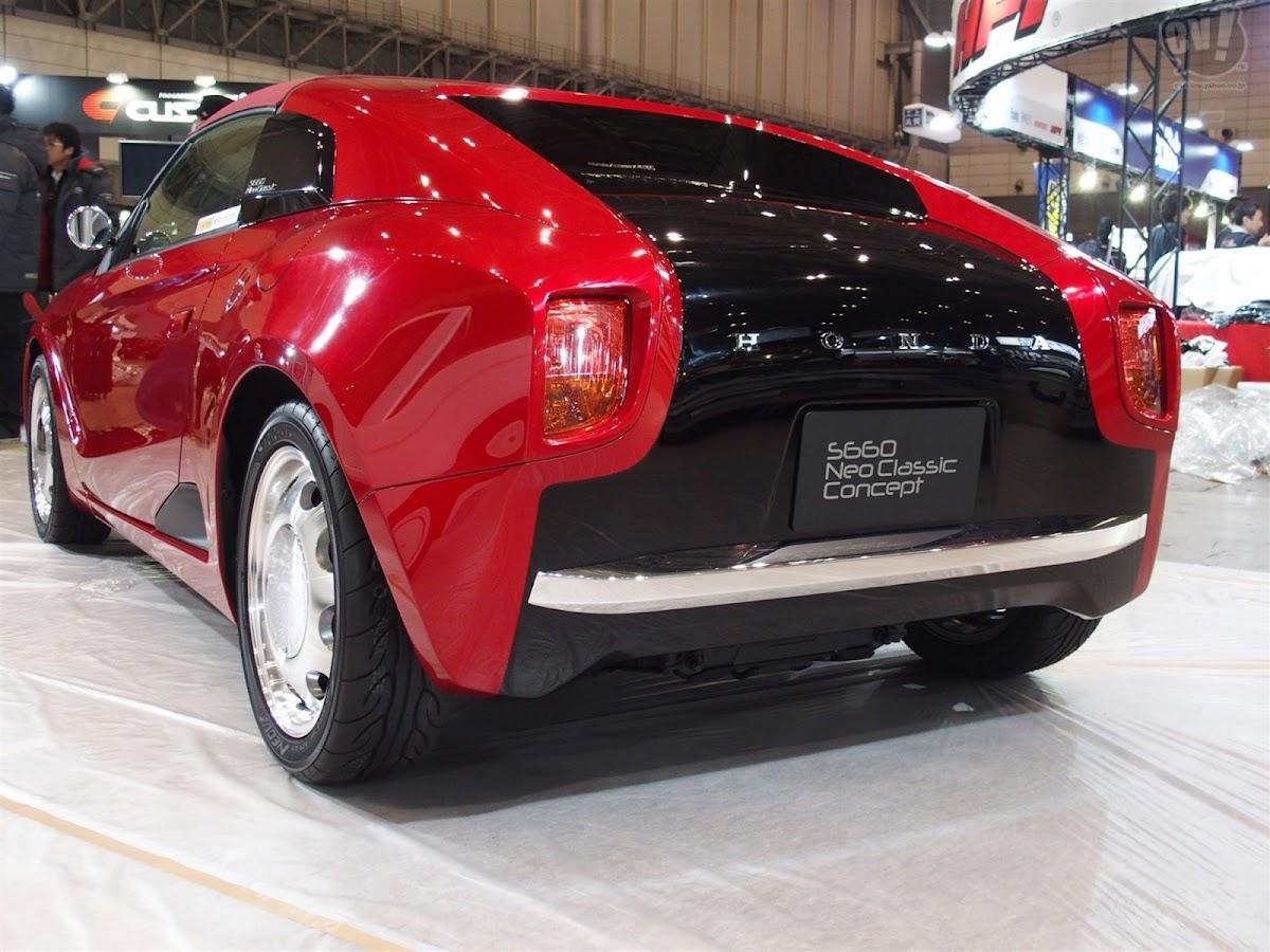 Honda S Classic Car