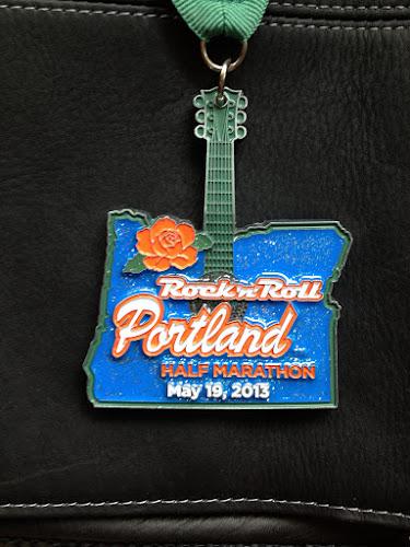Rock 'n' Roll Portland Half Marathon medal