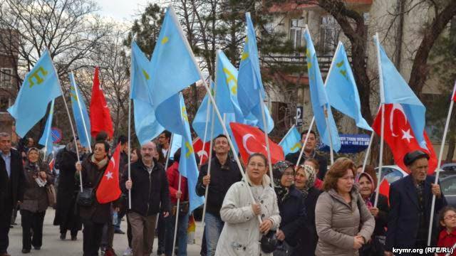Анкара. Крымские татары