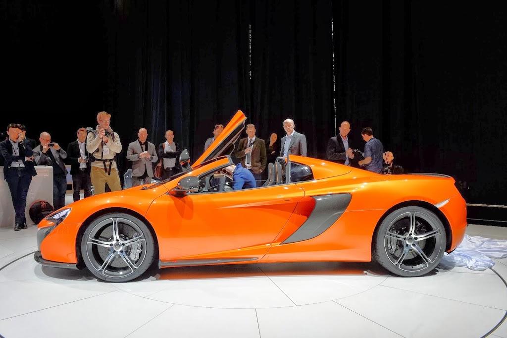 McLaren 650S Spider Geneva Motor Show 22