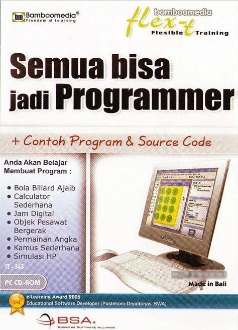 Bamboomedia IT-343 Semua Bisa Jadi Programmer Software