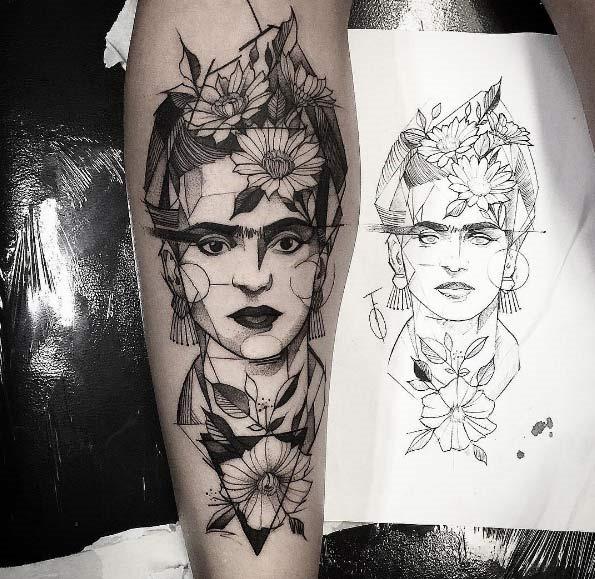 este_geomtricas_frida_kahlo_tatuagem
