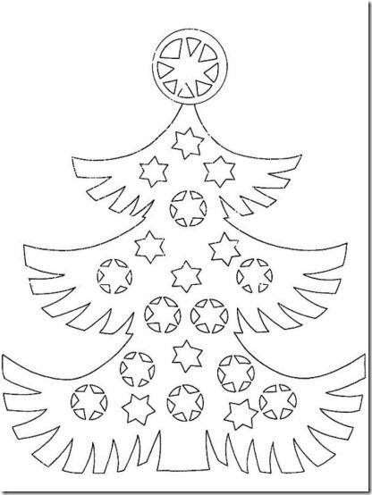patrones para recortar ventanas navidad  (8)