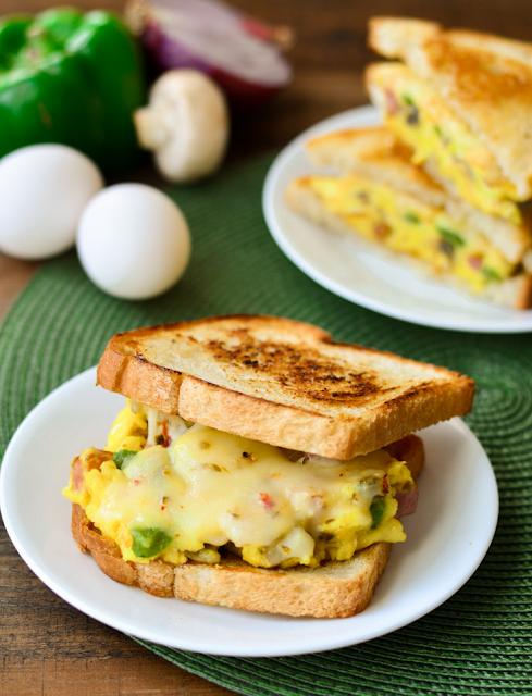 Hinh anh: Banh Sandwich Omelet Denver