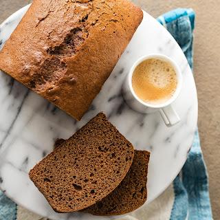 Sticky Gingerbread Loaf Cake.