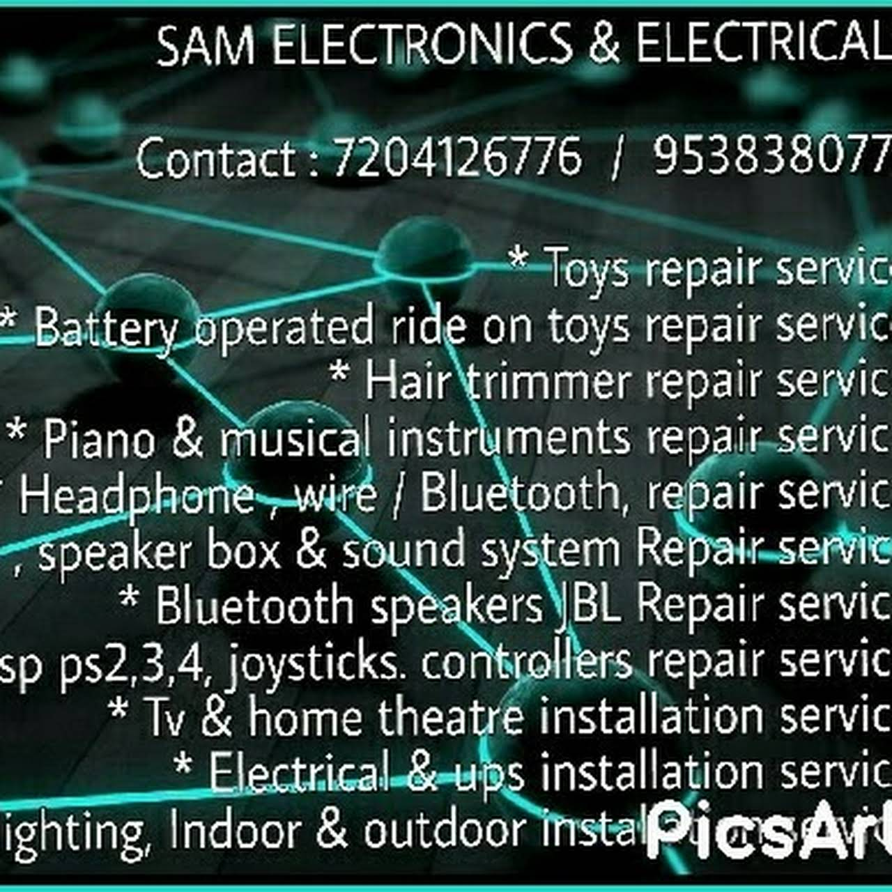 Sam Toy repair service, Ride on toys, Battery operated toys repair