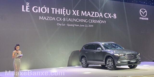 Mazda CX-8 2019 7 chỗ lắp ráp trong nước chính thước được giới thiệu đến người tiêu dùng Việt Na, xe giao từ tháng 7/2019
