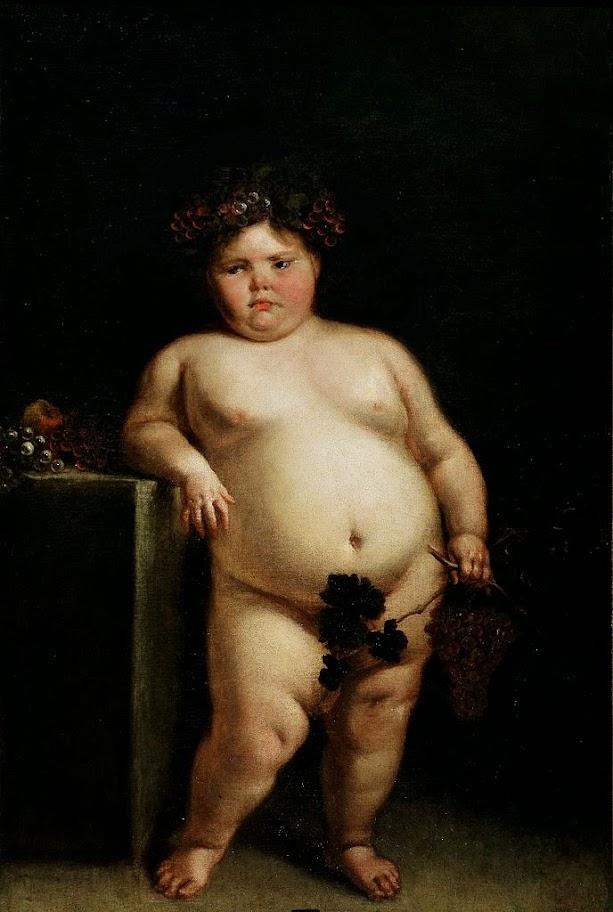 Juan Carreño de Miranda - La Monstrua Desnuda (Eugenia Martinez Vallejo Unclothed)