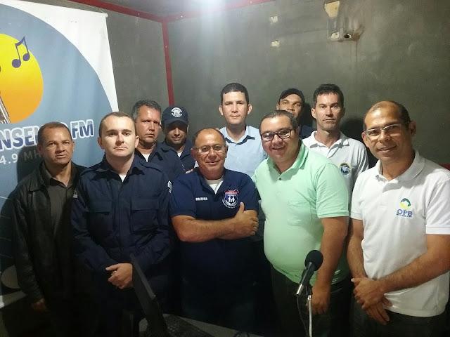 GUARDAS MUNICIPAIS DE BOM CONSELHO REÚNEM-SE COM PRESIDENTE DA ORDEM DOS POLICIAIS DO BRASIL