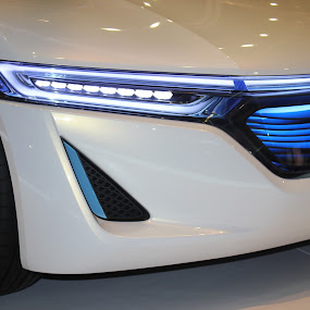 The Future Today by Pathum Herath - Transportation Automobiles ( cool, lights, honda, blue, cars, future )