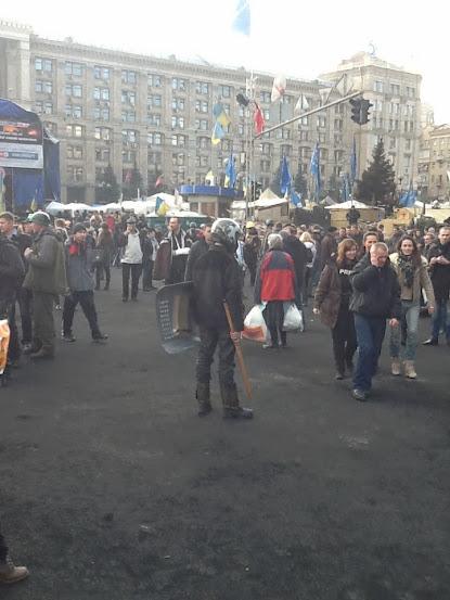 Набір захисника Майдану: Шолом, щит і палиця