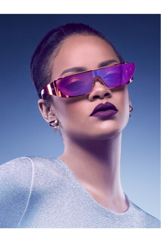 Rihanna collaborates with DIOR to create a futuristic sunglasses collection