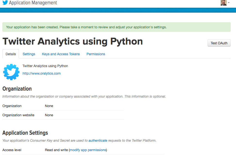 Twitter Analytics using Python - Part 1