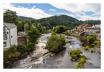 UK Mega 2016 in North Wales - Llangollen - Am Fluss