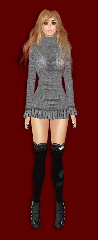 [Stellar] Timeless Knit Dress - Grey