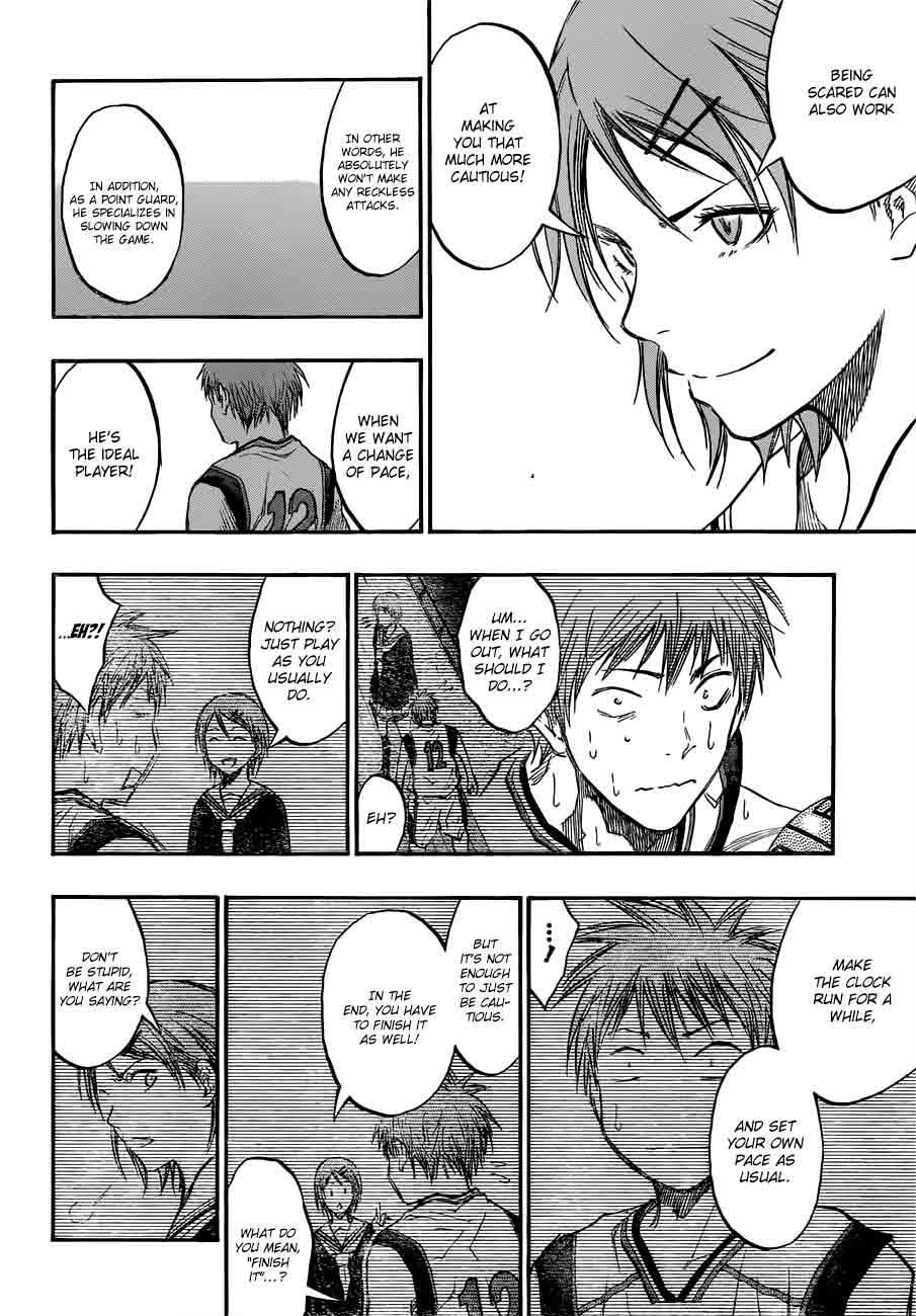 Kuroko no Basket Manga Chapter 187 - Image 06